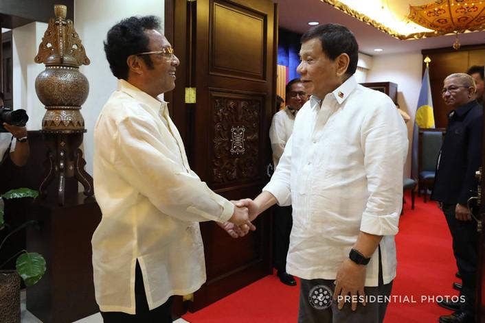 Palau President Remengesau met with President Duterte in Davao City