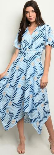 The Laurel Printed Maxi Dress