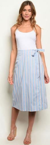 The Madison Striped Skirt