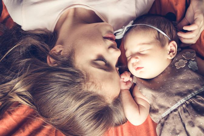 Sesión Newborn en casa