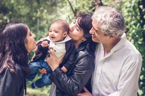 Sesión familiar auténtica Quito