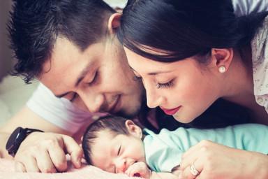 Sesión Newborn en casa Quito