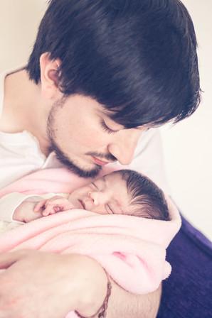 Sesiones de recién nacidos en casa Quito