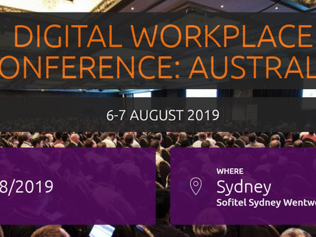 Digital Workplace Conference: Australia