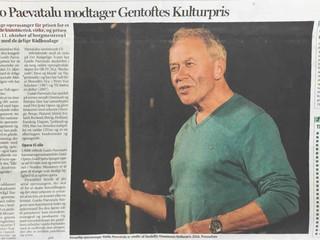 Guido Paevatalu modtager Gentoftes Kulturpris!