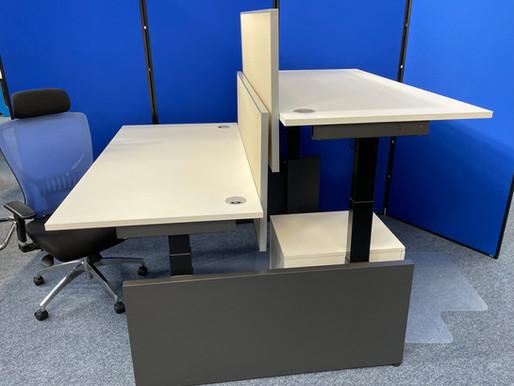 Herman Miller Sit Stand Desks Installation at Moffetts Engineering