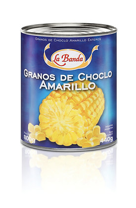 Choclo Amarillo Entero, 800g