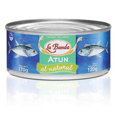 Atún Entero al Natural, 170g