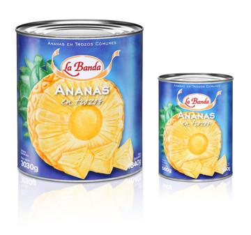 Anana en Trozos