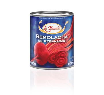 Remolacha en Rebanadas