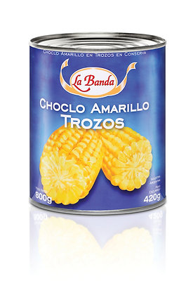 Choclo Amarillo Trozos, 800g