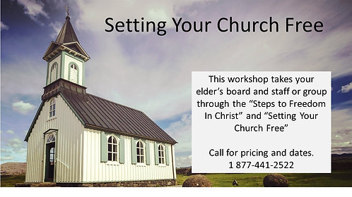 Setting Your Church Free Workshop