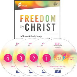 Freedom In Christ 10 Week Discipleship Course DVD