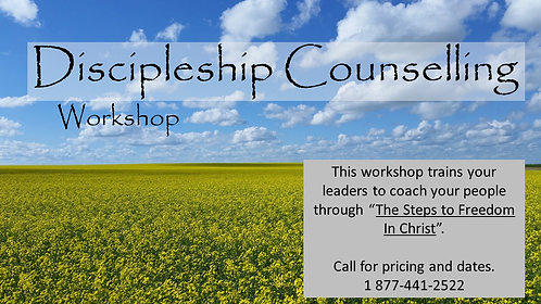 Discipleship Training Workshop