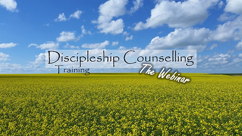 Discipling Counselling - Live Stream