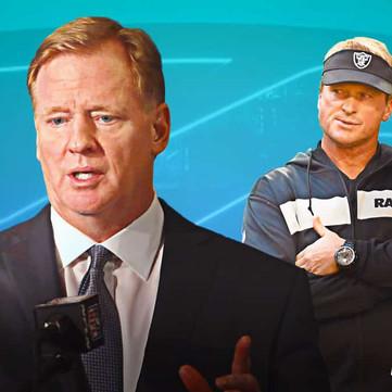 The Scapegoat: Jon Gruden Feels The NFL's Wrath