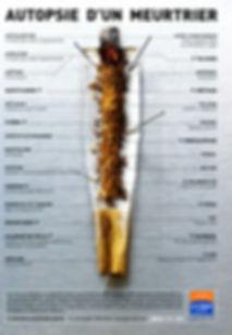 cigarette ouverte, autopsie d'un meurtrier, liste des produits toxiques et cancérigenes