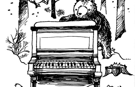 Winter Recital Program Cover