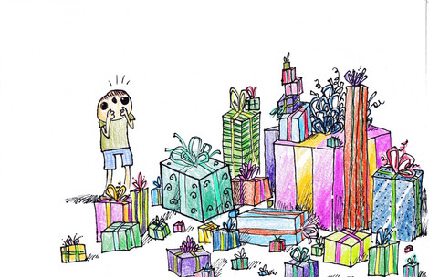 Presents Card Design