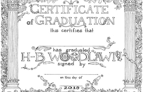 H-B Woodlawn Diploma Design