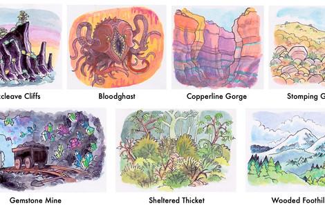 Magic: The Gathering Card Designs