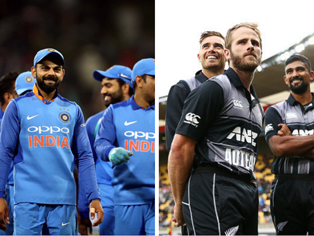 First Semi Final: India Vs New Zealand, ICC World Cup 2019