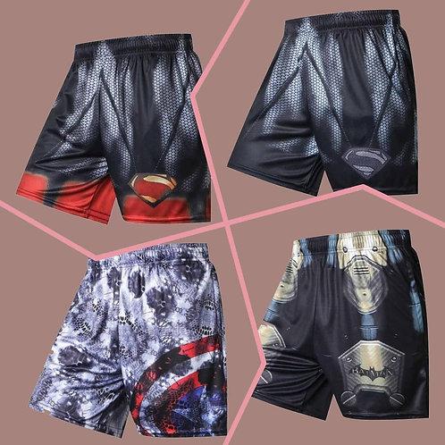 Customized AMALS Men's Alpha Skin Sublimated Sport Badge of Sport Shorts