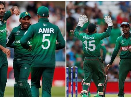 Pakistan vs Bangladesh, ICC World Cup 2019