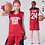 Thumbnail: Basketball JerseyWhite, 90S Hip Hop Clothing for Party, 2-Layer Stitched Letter