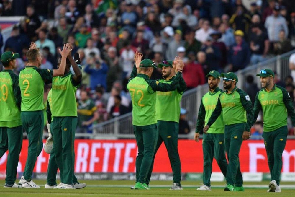 South Africa won by 10 runs