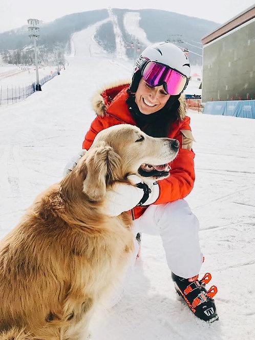 Women's Waterproof Ski Snow Pants Windproof Warm Winter Snowboard Outdoor Pants
