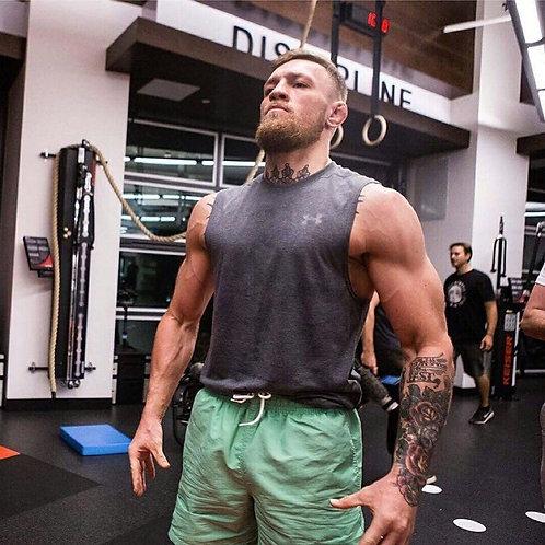 Training Sharks Fight Shorts Men's Boxing MMA Combat BJJ Grappling Fitness Muay