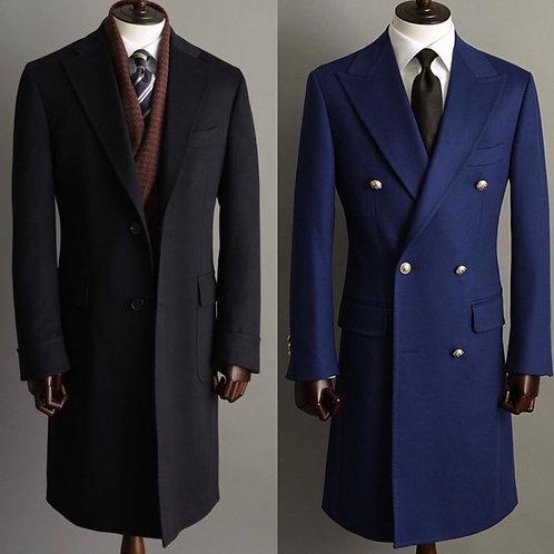 Black Jacket for Men / Women Distressed Style Coat