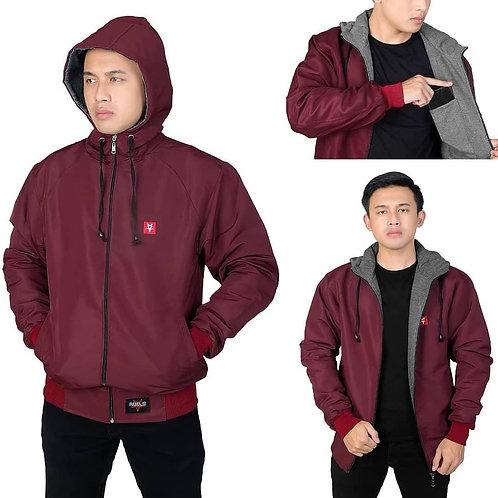 Men'sWaterproof Breathable Jacket with Packable HoodJacket Waterproof Jacket