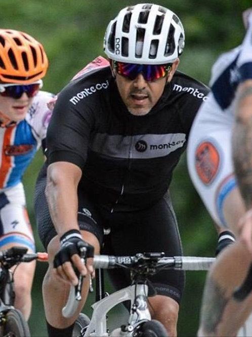 Cycling Jersey Men's Long Sleeve Bike Reflective Full Zip Bicycle Shirts