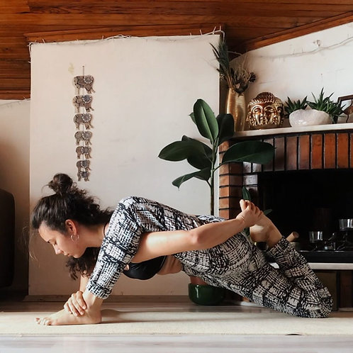 Customized Women's High Waist 'Eyelet' Yoga Legging and sports bra Yoga tops