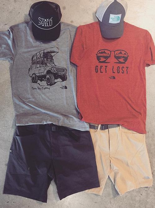 Customized Men's Fishing Shorts Quick Dry & Wicking Shorts