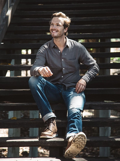 Customized Good threads Men's Skinny-Fit Selvedge Jean