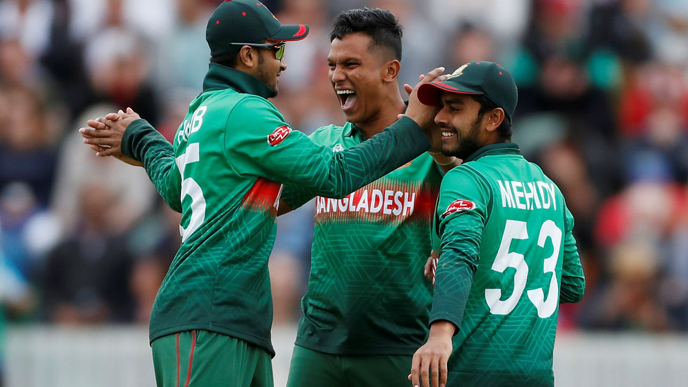 Bangladesh won by 7 wickets