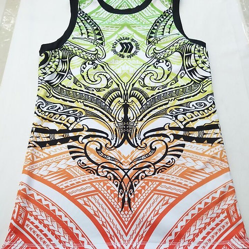 Men's Tank Top Printed Cool Loose Gym Fitness Sleeveless T-Shirt Sportswear