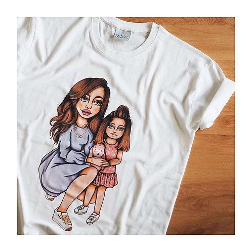 Customized Women T-Shirt