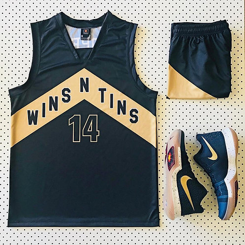 Customized Academy Fresh Prince Basketball Jersey Embroidered