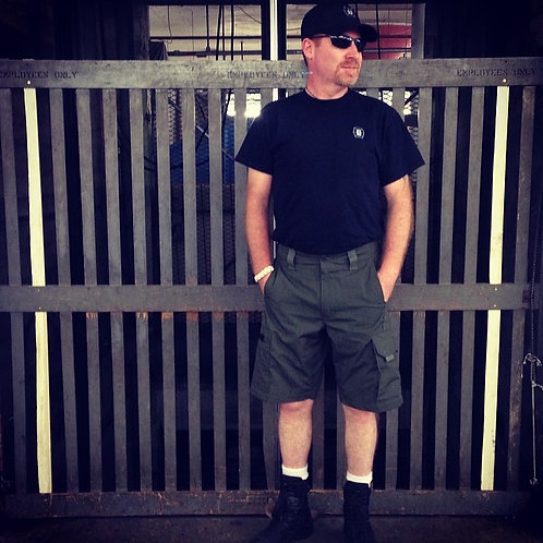 Men's Quick Dry Shorts Lightweight Hiking Shorts Gym Workout Short Zipper Pocket