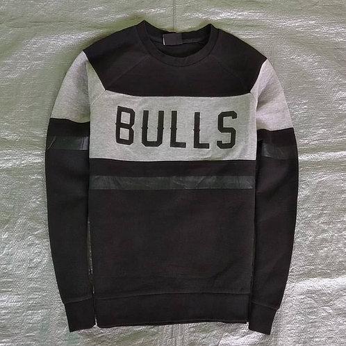 Men's Casual Knitted Long Sleeves Striped Lightweight Sweatshirt