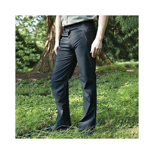 Men's Outdoor Quick-Dry Lightweight Waterproof Hiking Mountain Pants with Belt