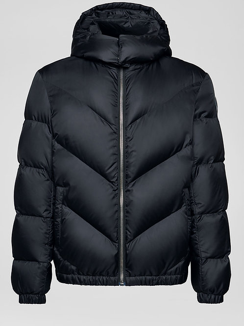 Men's Puffer Coat Insulated Windproof Warm Winter Jacket with Hood