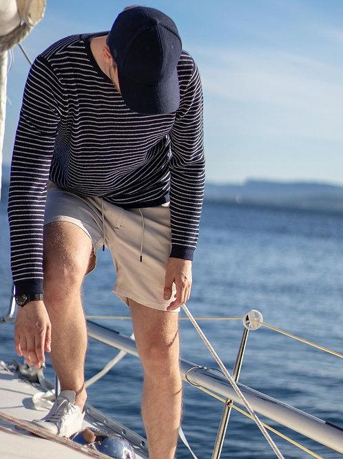 Customized Men's Cargo Short Casual Elastic Premium Waist Relaxed Outdoor Summer