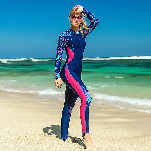 Customized Women's One Piece Athletic Training Swimsuits Swimwear Bathing Suit