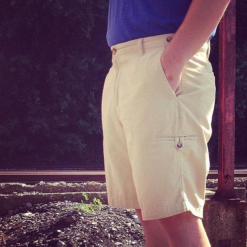 Men's Quick Dry Hiking Shorts Lightweight Cargo Shorts Zipper Pockets