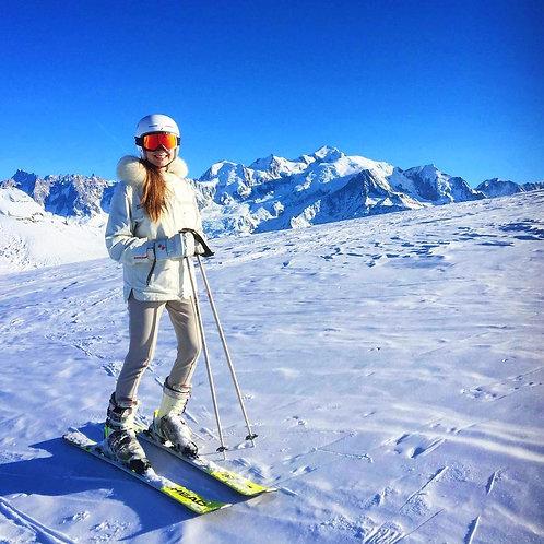 Women's Winter Hiking Ski Snowboarding Pants, Softshell Pants, Fleece Lined